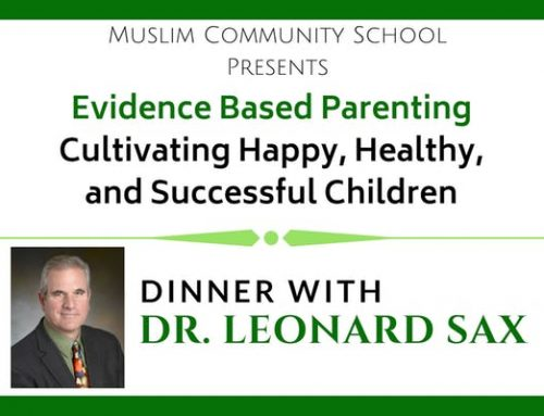 Dinner with Dr. Leonard Sax: Evidence Based Parenting
