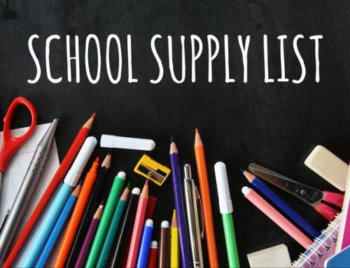 2018–2019 SCHOOL SUPPLY LIST