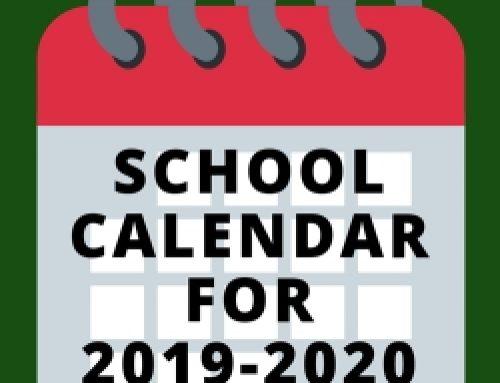 Updated Online MCS Calendar