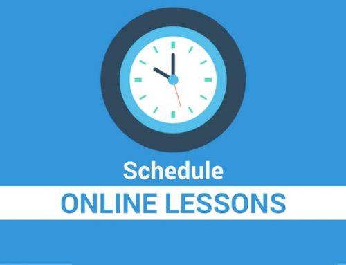 K-12 Online Schedule