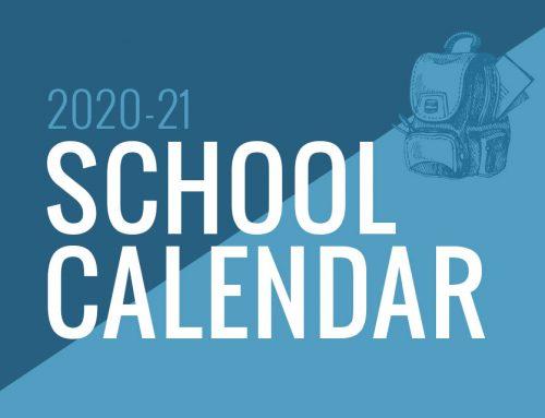 MCS/AA  2020-2021 Calendar