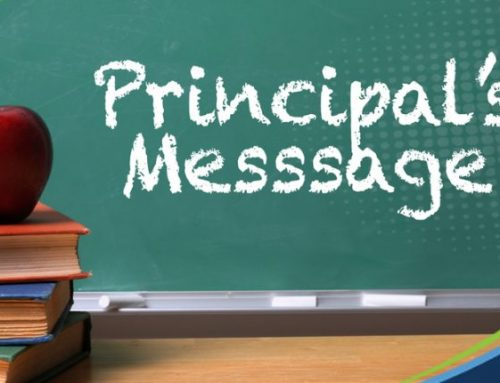 Principal's Message –  School Year 2020-21 (Distance Learning)